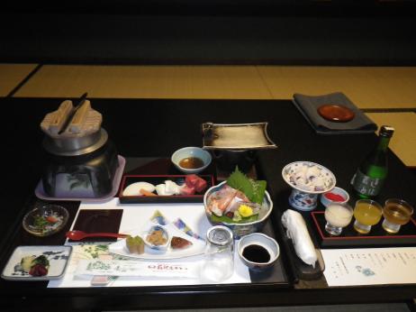 萩観光ホテル 夕食