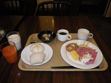ルートイン盛岡南 朝食