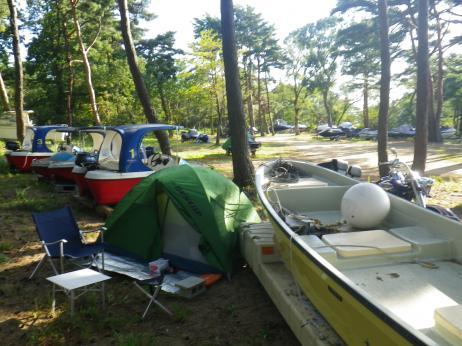 天神浜キャンプ場 2013