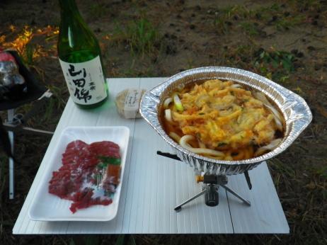 天神浜キャンプ場 夕食