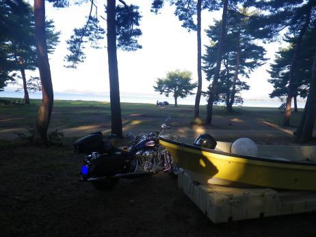 天神浜キャンプ場 サイト