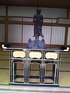 浄運寺秘蔵釈迦立像