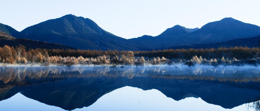 小田代ヶ原の幻湖