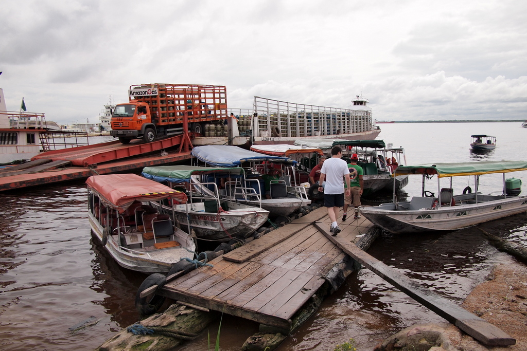 ■ Rio Amazonas (アマゾン川) / ブラジル