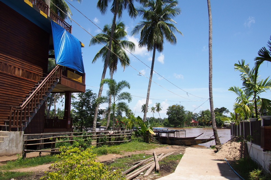 ■ Don Khon(コーン島)の村の風景