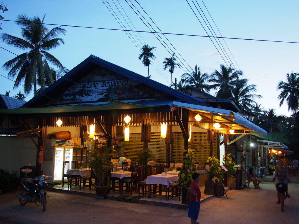 ■ Lao Long Restaurant / Don Khon / Laos