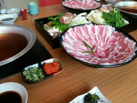 伊丹豚しゃぶ (2)