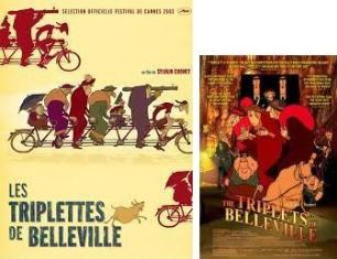 『ベルヴィル・ランデブー』 (2002/フランス、ベルギー、カナダ) ※ネタバレにご注意を ラストシーンに触れています