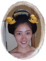 自毛日本髪 和装ヘアセット 下夜会