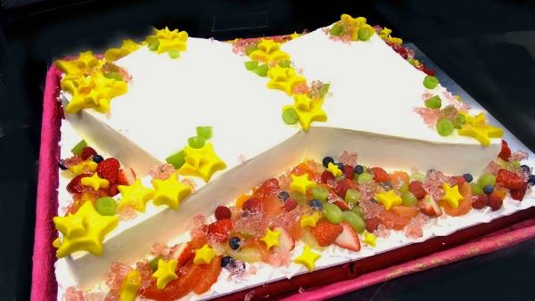 オリオン座のケーキ