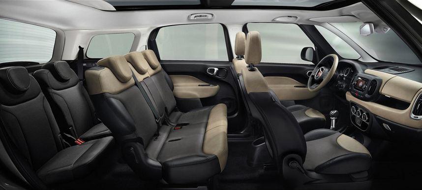 Fiat 500L Living interior
