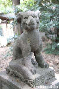 土支田八幡宮(練馬区土支田)13
