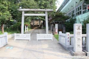 三宿神社(世田谷区三宿)1