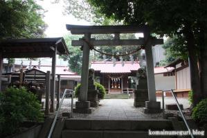 弦巻神社(世田谷区弦巻)6