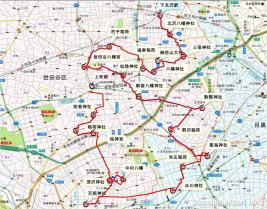 下北沢~上町