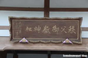 秩父御嶽神社(埼玉県飯能市坂石)43