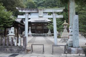 若宮八幡神社(岐阜県下呂市湯之島)1
