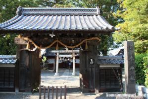 松本神社(長野県松本市開智)1
