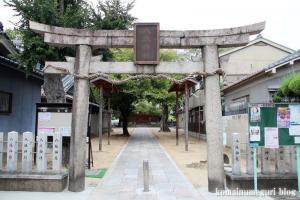 八坂神社(大阪市平野区喜連東)1