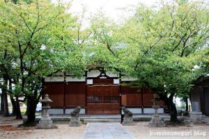 八坂神社(大阪市平野区喜連東)6