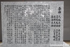 八坂神社(大阪市平野区喜連東)10