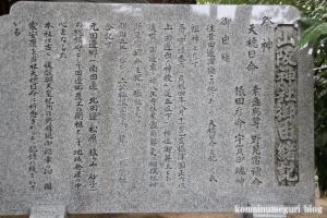 山阪神社(大阪市東住吉区山坂)13