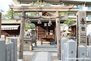 賽の神神社(大阪市東住吉区矢田)1