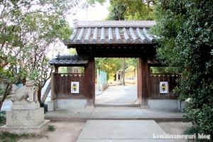 大依羅神社(大阪市東住吉区庭井)14
