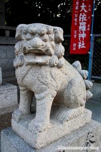 大依羅神社(大阪市東住吉区庭井)5