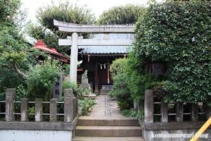 轡神社(板橋区仲町)1