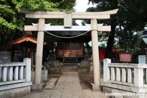 蓮沼氷川神社(板橋区蓮沼町)1
