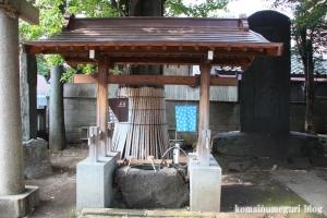 蓮沼氷川神社(板橋区蓮沼町)4