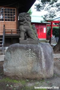 蓮沼氷川神社(板橋区蓮沼町)15