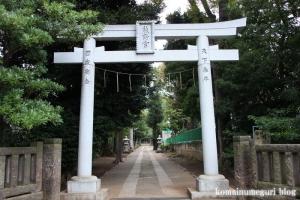 城山熊野神社(板橋区志村)1