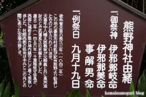 城山熊野神社(板橋区志村)9