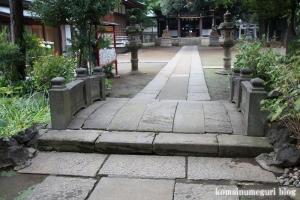 蓮根氷川神社(板橋区蓮根)8