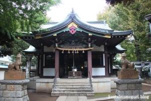 蓮根氷川神社(板橋区蓮根)9