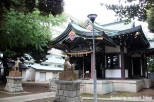 蓮根氷川神社(板橋区蓮根)10
