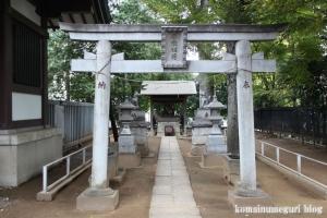 蓮根氷川神社(板橋区蓮根)12
