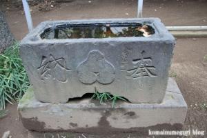 蓮根氷川神社(板橋区蓮根)18