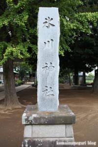 蓮根氷川神社(板橋区蓮根)2