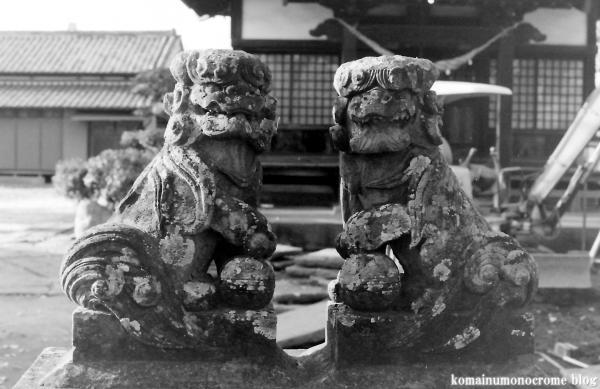 神明神社(埼玉県加須市南篠崎)1