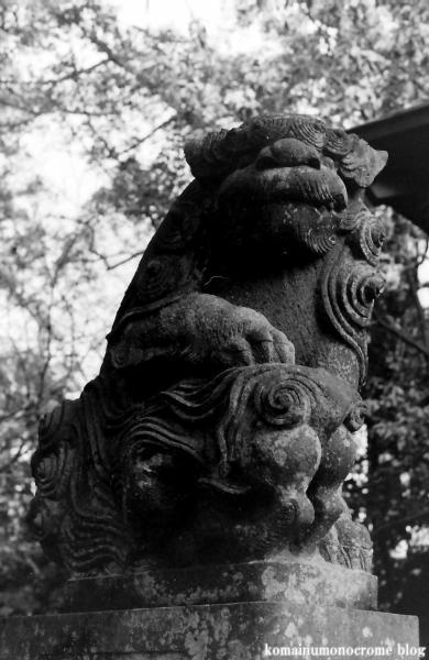 阿伎留神社(あきる野市五日市)3