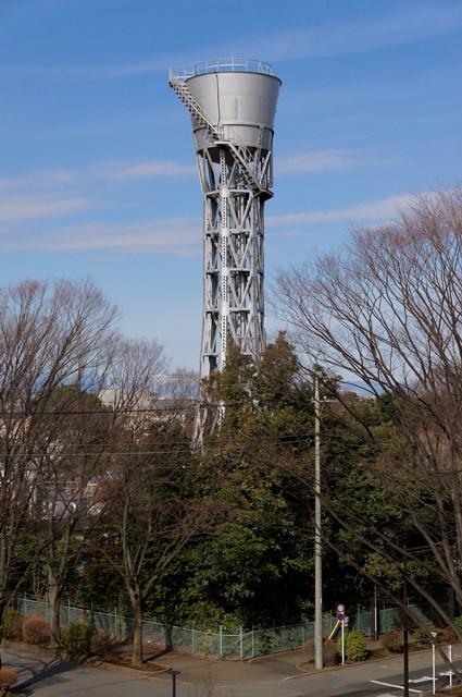 公団ひばりヶ丘団地の給水塔