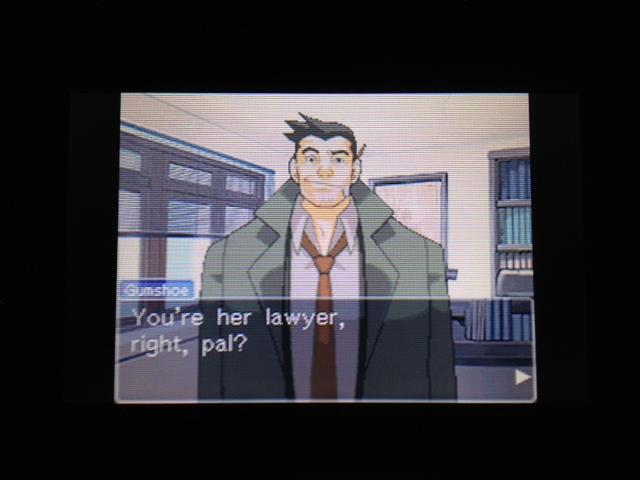 逆転裁判 北米版 探偵 ガムシュー8