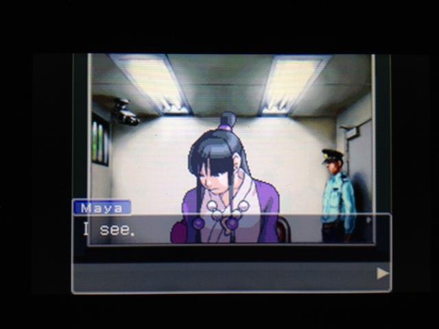逆転裁判 北米版 マヤ面会 2-7