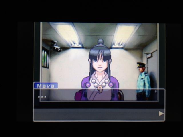逆転裁判 北米版 マヤ面会 2-33