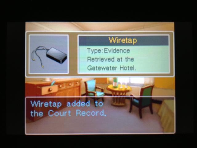 逆転裁判 北米版 ゲートウォーターホテル ベルボーイ 1-15