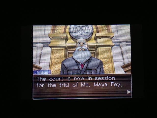 逆転裁判 北米版 マヤ法廷2