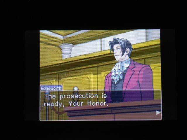 逆転裁判 北米版 マヤ法廷3